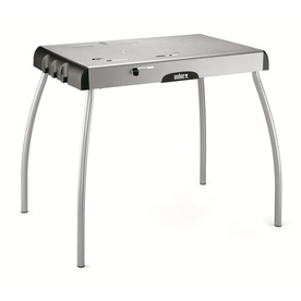 Weber Steel Gray Folding Grill Stand 7445