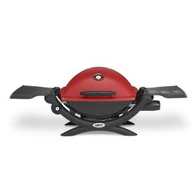 Weber Q1200 Gas Grill- Red 51040001