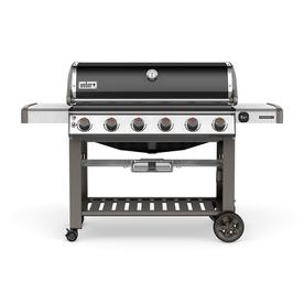 Weber Genesis Ii Black 6-Burner Natural Gas Grill 68010001