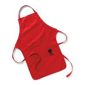 Weber Red Cotton Grilling Apron 6534