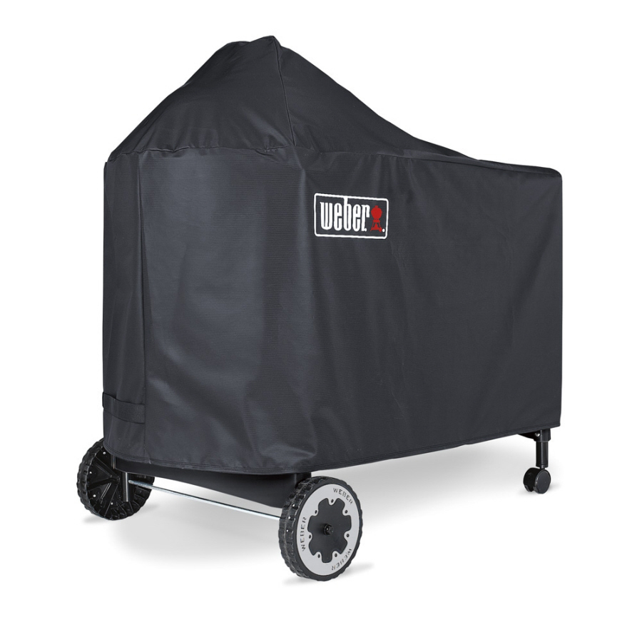 Shop Weber Vinyl 51 In Charcoal Grill Cover At Lowes Com
