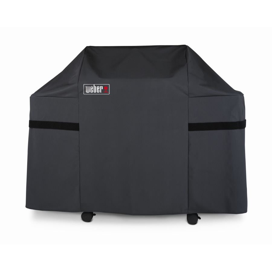 Shop Weber Vinyl 60 In Gas Grill Cover At Lowes Com