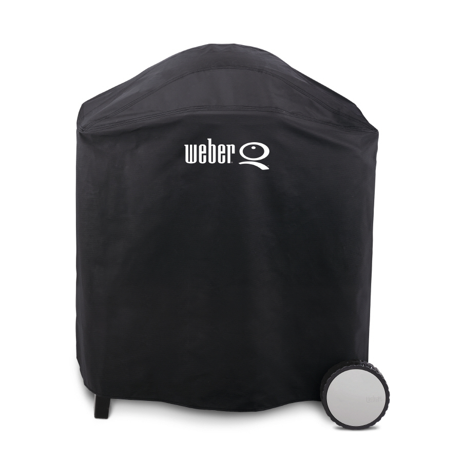 Shop Weber Q300 3000 Vinyl 39 In Gas Grill Cover At Lowes Com