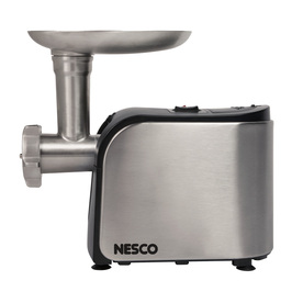 Nesco 1-Speed Stainless Steel Electric Meat Grinder Fg-180