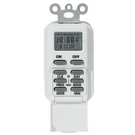Intermatic IW505K 15-Amp Digital In-Wall Timer