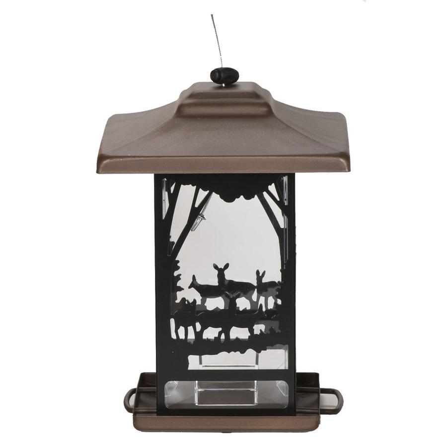 Perky Pet Lantern Metal Hopper Bird Feeder