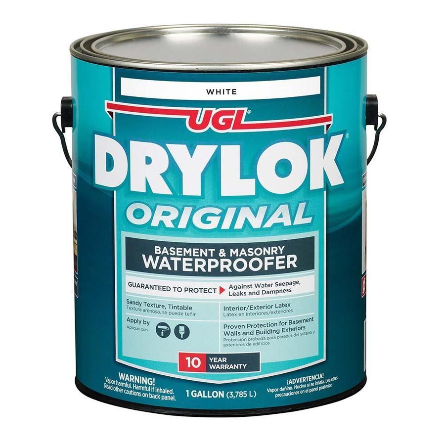 Shop UGL Drylok Latex-Based Masonry Waterproofer, White