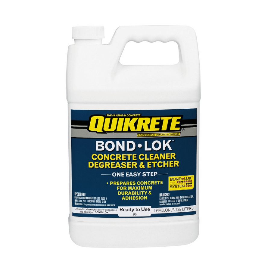 Shop Quikrete 1 Gallon Concrete Cleaner Degreaser And