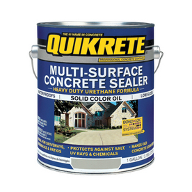 Shop Quikrete Gallon Multi Surface Concrete Sealer At
