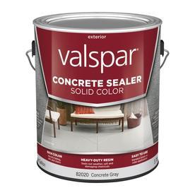 Shop Valspar Solid Color Concrete Sealer Concrete Gray
