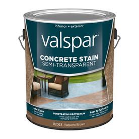 Valspar Vaquero Brown Semi Transparent Concrete Stain And