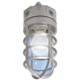 Utilitech 4.12-In W Gray Outdoor Flush-Mount Light Vt100gut
