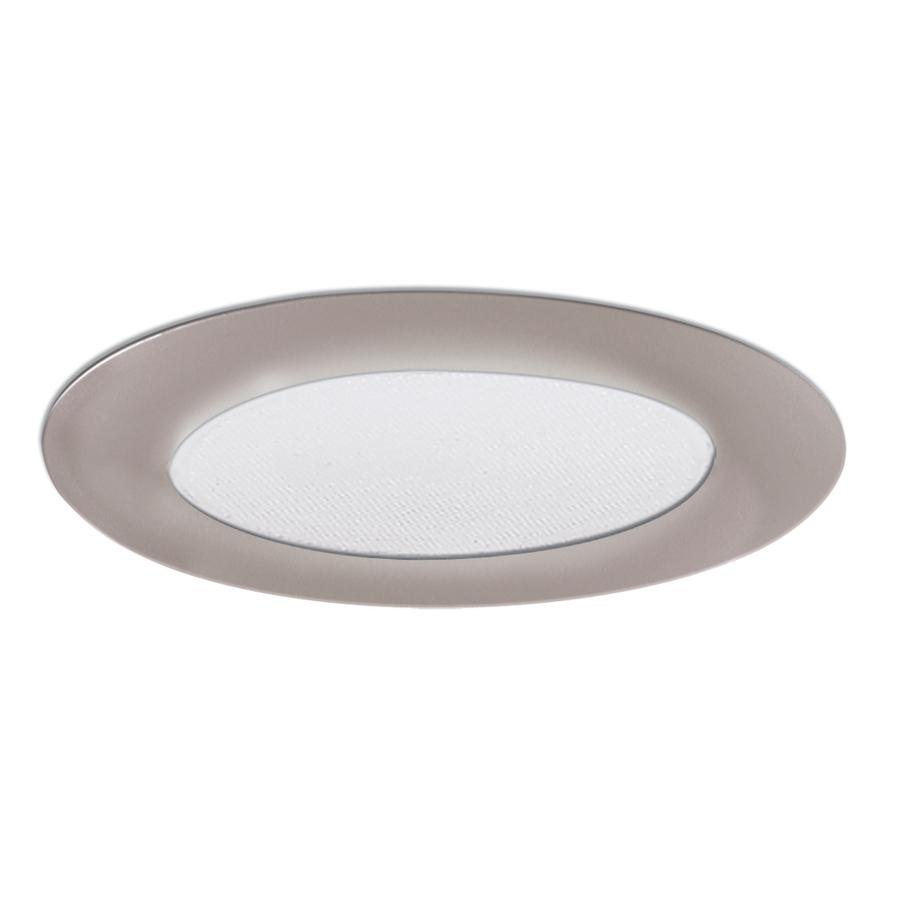 Shop Halo Nickel Shower Recessed Light Trim (Fits Housing ...