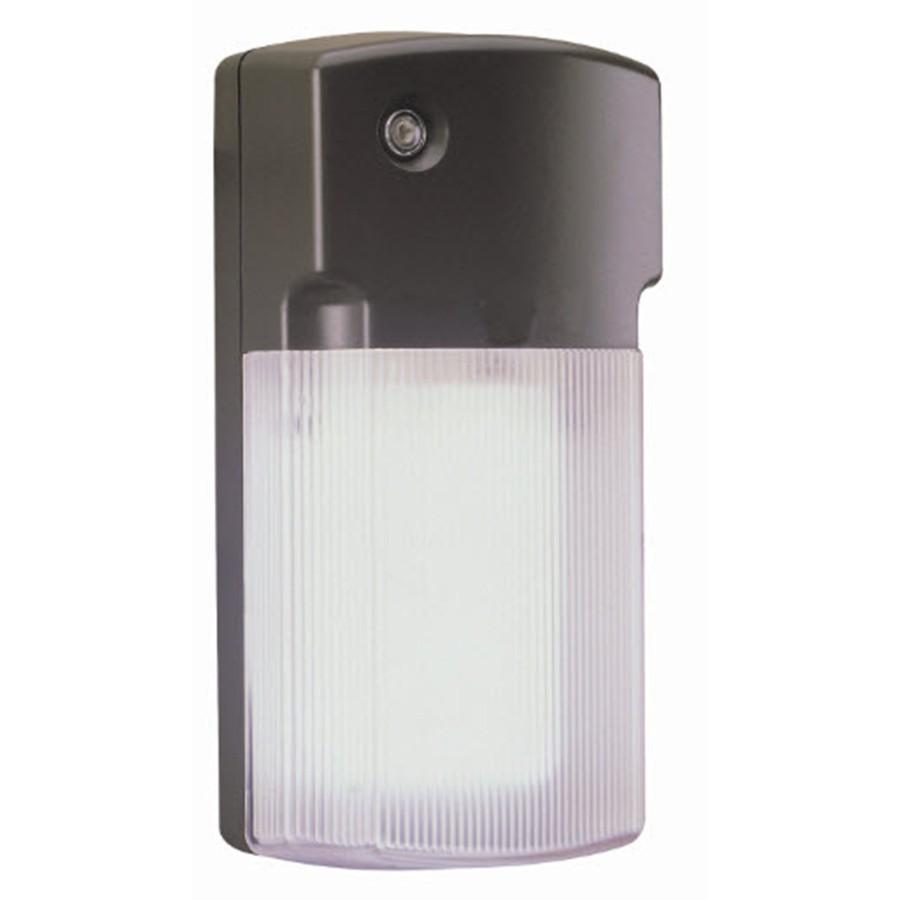 Lowe S Security Lights Outdoor: Shop Utilitech 6-Watt Bronze CFL Dusk-to-Dawn Security