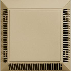 Builders Edge 7-In L Almond Plastic Soffit Vent 140057575049