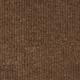 Shop 18 In X 18 In Restoration Brown Indoor Outdoor Carpet