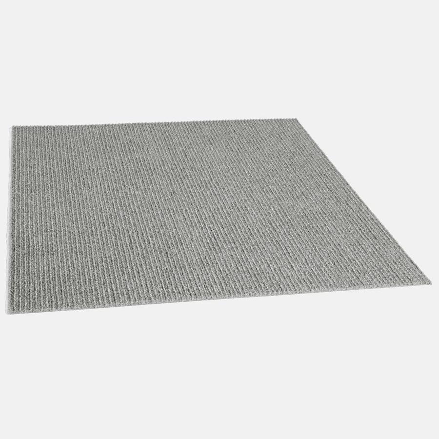 Vanguard 15-Pack Dove Grey Pattern Peel-and-stick Carpet
