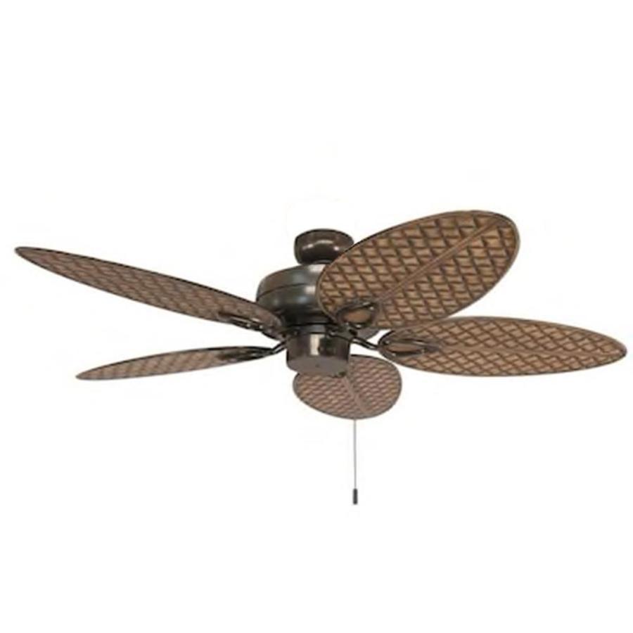 Harbor Breeze Tilghman Ii Bronze 52 In Indoor Outdoor Ceiling Fan 5 Blade In The Ceiling Fans Department At Lowes Com
