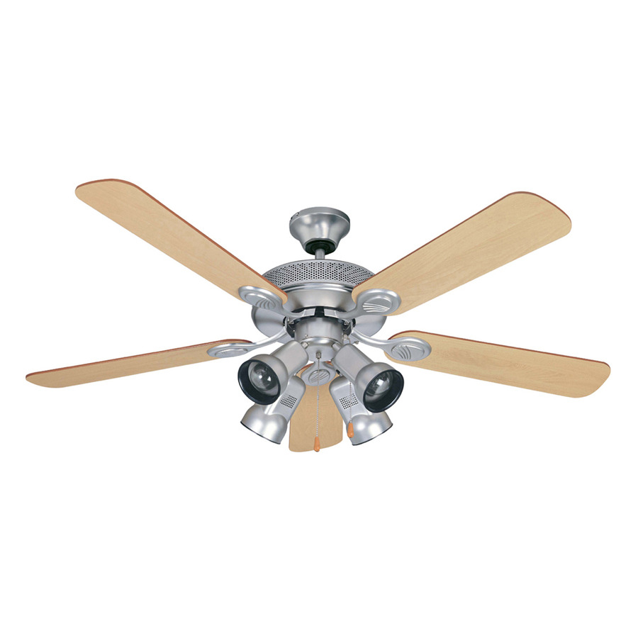 Shop Litex 52 In. Spotlight Ceiling Fan, Brushed Pewter At
