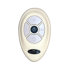 Shop Harbor Breeze 3 Speed 0 5 White Indoor Remote Fan