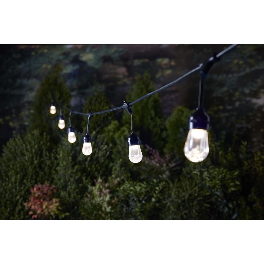 Lowes Led Christmas Lights 11-24-2021 Portfolio 25 Ft 12 Light Plug In Color Changing Led String Lights In The String Lights Department At Lowes Com