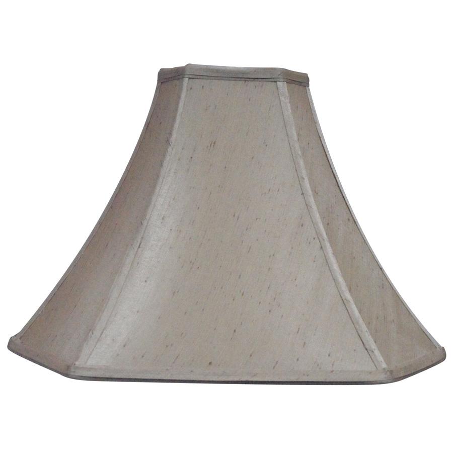 Shop Portfolio 12-in X 16-in Silken Toast Bell Lamp Shade