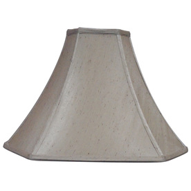 Display Product Reviews For 11 5 In X 16 Silken Toast Fabric Bell Lamp