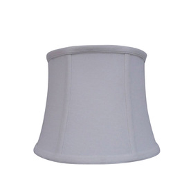 Display Product Reviews For 7 5 In X 10 White Fabric Drum Lamp Shade