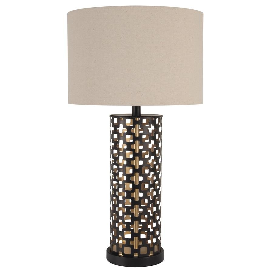 BronzeGold Fluorescent Table