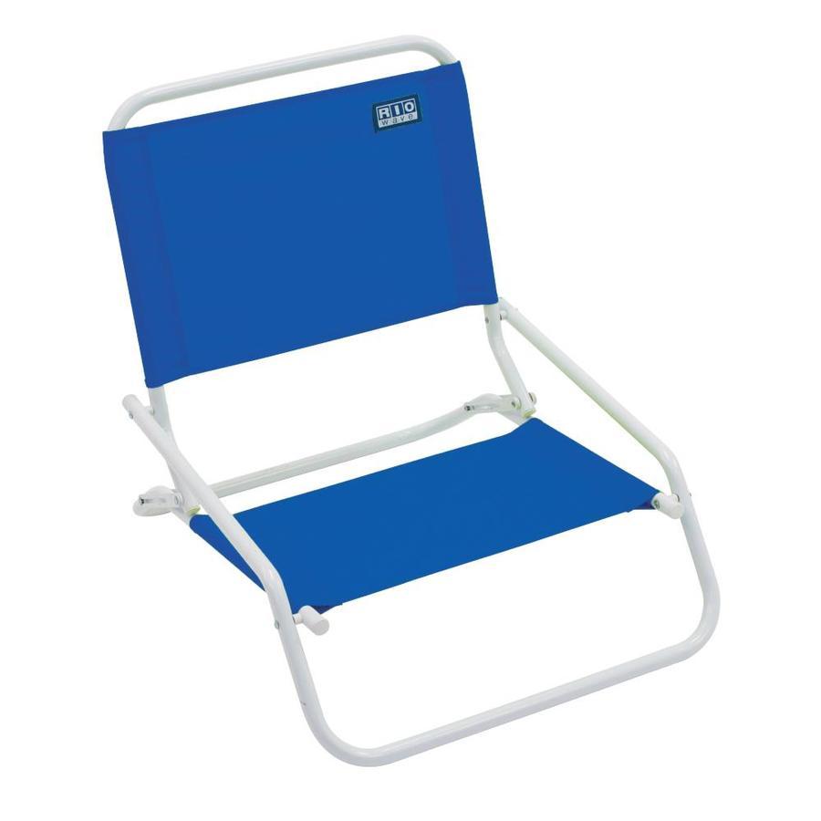 Shop Rio Brands Indoor Outdoor Steel Beach Folding Chair