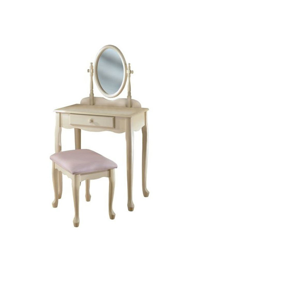 Shop Powell White Makeup Vanity At Lowes Com