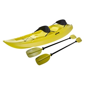 Lifetime Products Manta Tandem Kayak with 2 Soft Backrests/Paddles