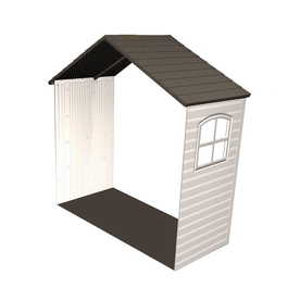 LIFETIME PRODUCTS 8-ft x 2-1/2-ft Resin Storage Shed Expansion Kit 6424