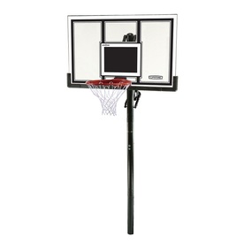 LIFETIME PRODUCTS Outdoor In-Ground 54-in Backboard Basketball System 71525–Lowe's-Cash Back