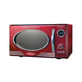 Shop Nostalgia Electrics 0 9 Cu Ft 800 Watt Countertop