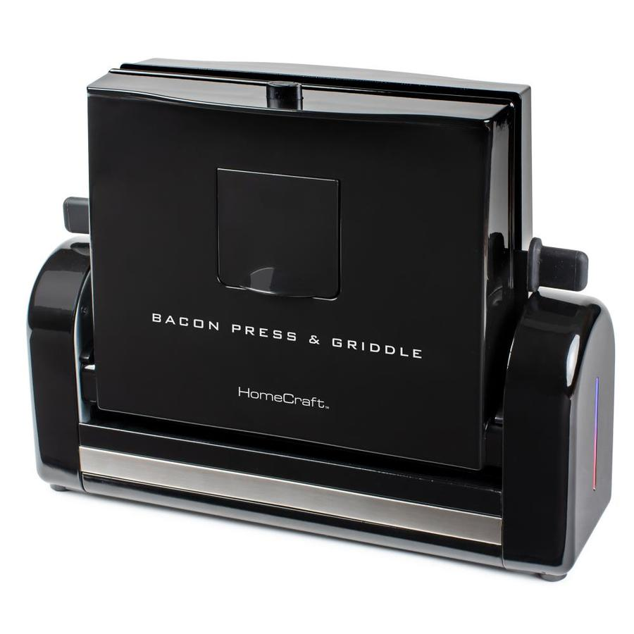 HomeCraft HomeCraft Bacon Press and Griddle in Black | FBG2