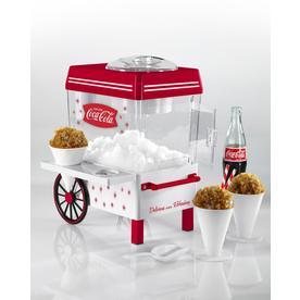 Nostalgia Store Coca-Cola Red Snow Cone Maker Scm550coke