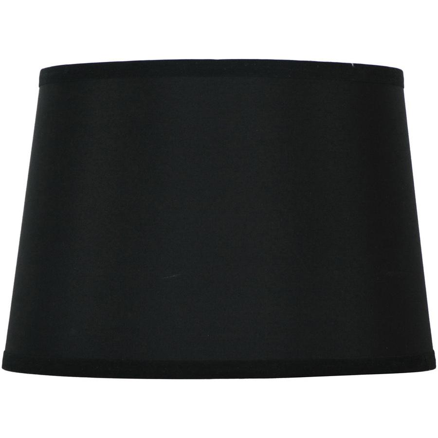 Vellum Lamp Shades Oaks Lighting Black Pleated Drum Lamp