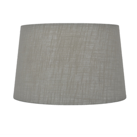 c3fc9a6ec96 Display product reviews for 10-in x 15-in Gray Fabric Drum Lamp Shade