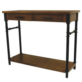 Display Product Reviews For Walnut Wood Veneer Console Table
