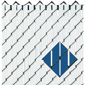Pexco Blue Chain-Link Fence Privacy Screen Pvt-Rblue-6