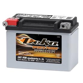 Deka 12-Volt Motorcycle Battery Etx9