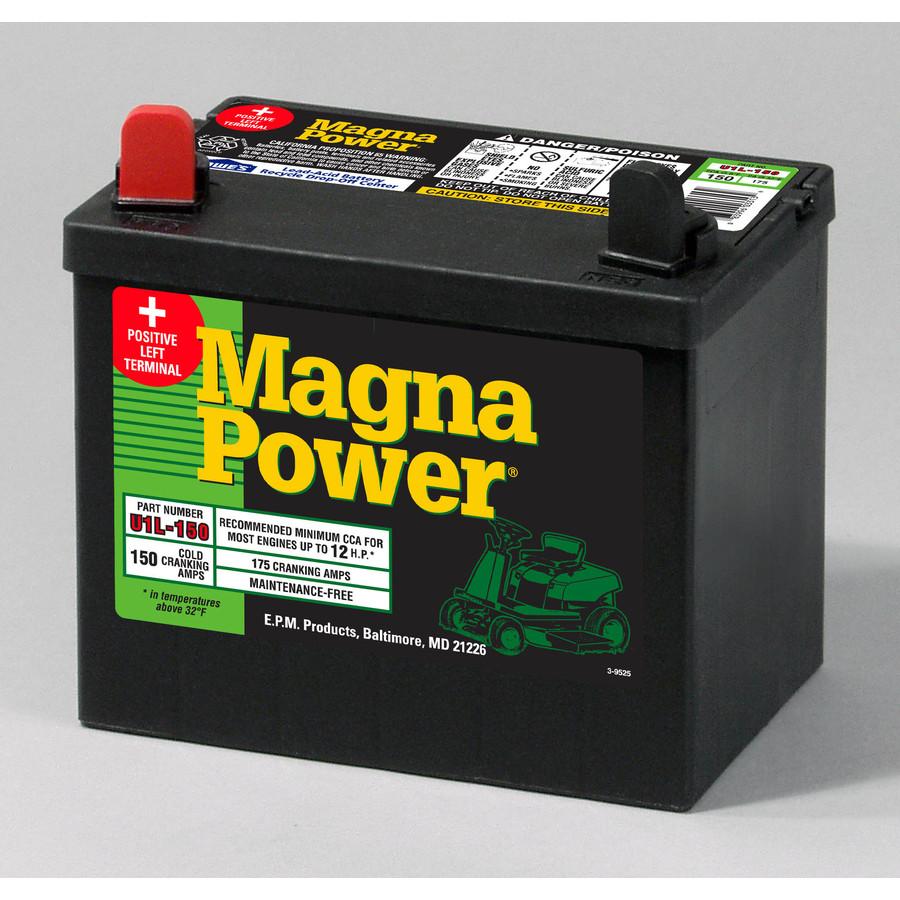 Shop Magna Power 12 Volt 175 Amp Lawn Mower Battery At