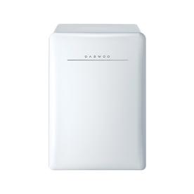 Retro 2.8-cu ft Freestanding Compact Refrigerator (Cream White) - Daewoo FR-028RCNW