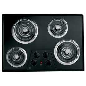 GE Coil Electric Cooktop (Black) (Common: 30-In; Actual 3...