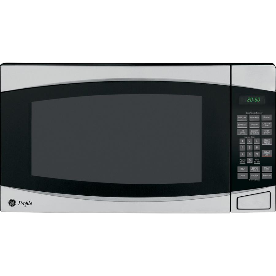 Shop GE Profile 2-cu Ft 1,200-Watt Countertop Microwave