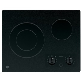 GE Smooth Surface Electric Cooktop JP256BMBB