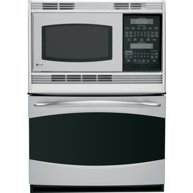 Shop Ge Profile Self Cleaning Microwave Wall Oven Combo