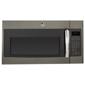 Shop Ge 1 7 Cu Ft Over The Range Microwave Sensor Cooking