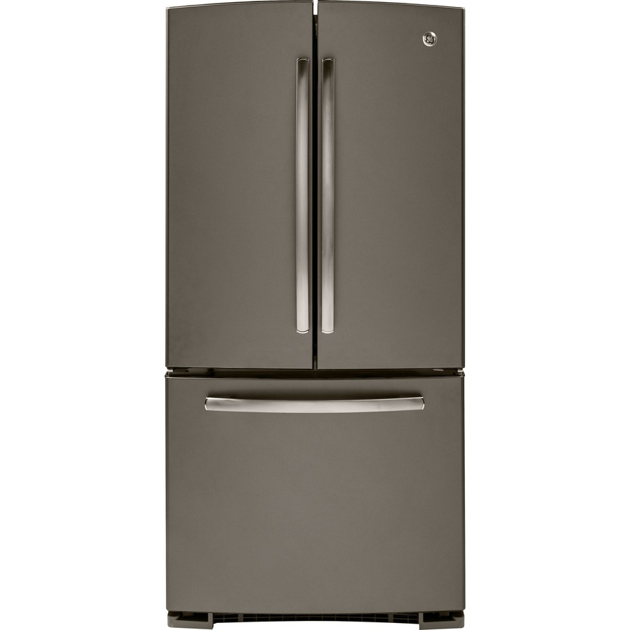 Ge Replacement Ice Maker Shop GE 22.1-cu ft French Door Refrigerator with Single ...